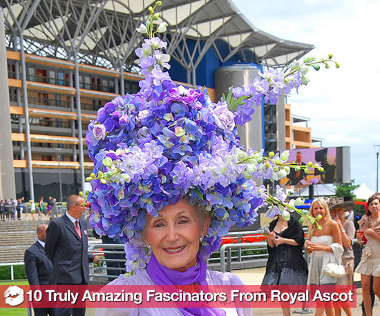 2010 Royal Ascot Hat and Fascinator Pictures 2010-06-16 07:00:00