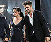 Slide Picture of Robert Pattinson and Kristen Stewart at Jimmy Kimmel Live