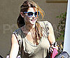 Slide Picture of Ashley Greene Getting Into a Limo in LA