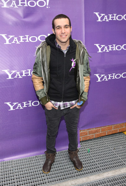 New daddy Pete Wentz is undeniably hip. His jeans are always super-fitted, and he loves hoodies.