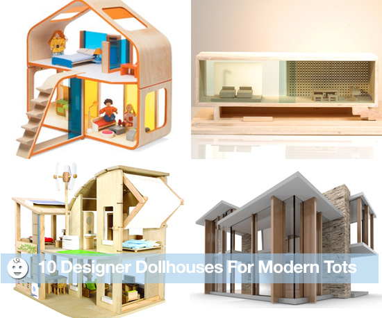 10 Designer Dollhouses For Modern Tots