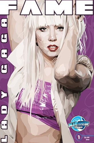 PHOTOS:Lady Gaga Comic Book