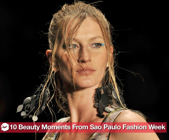 10 Cool Beauty Moments From Sao Paulo Fashion Week