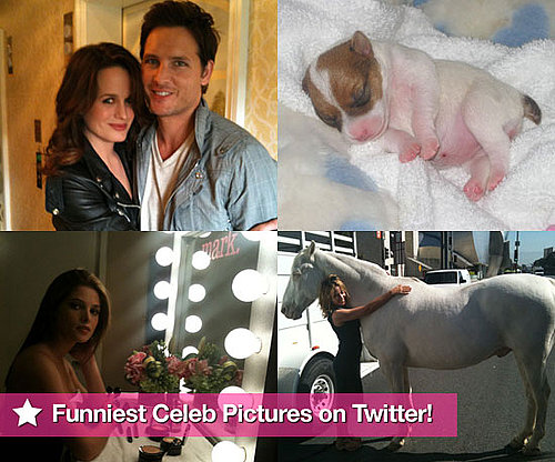 Pictures From Celeb Twitter Accounts Including Paris Hilton, Russell Brand, Emma Bunton, Tom Cruise and More