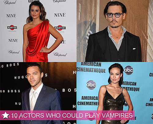 10 Actors Who Look Like Vampires 2010-06-15 21:30:02