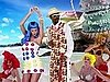Katy Perry &quot;California Gurls&quot; Style 2010-06-17 12:00:22