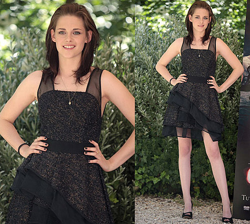 Photos of Kristen Stewart at Eclipse Photo Call in Rome