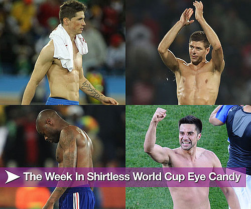 Pictures of Shirtless Soccer Players From the World Cup 2010-06-18 08:00:00