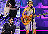 Pictures of John Mayer Presenting Taylor Swift a Songwriters Award in NYC 2010-06-20 19:30:00