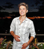 Pictures of Zac Efron at Maui Film Festival