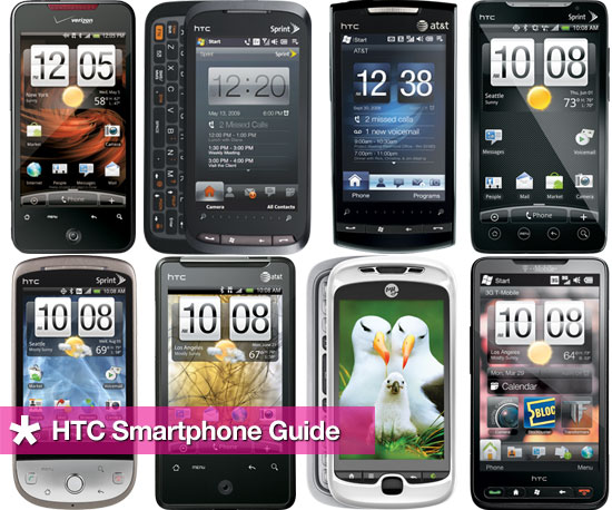 Your Guide to HTC Smartphones