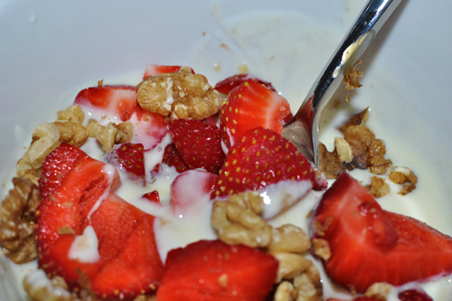 Strawberries and Walnuts