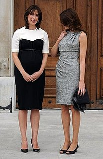 Picture of Carla Bruni and Samantha Cameron