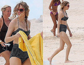 Pictures of Taylor Swift in a Black Bikini 2010-06-21 10:02:00