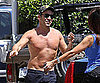 Slide Picture of Jeremy Piven Shirtless in Malibu