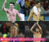 Pictures of Shirtless Football Players From the 2010 World Cup