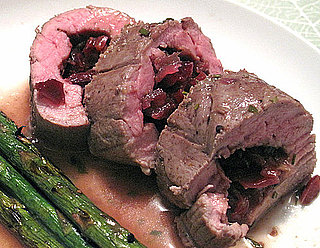 Joanne Weir's Recipe For Cherry and Onion Stuffed Pork Tenderloin