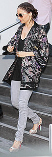 Nicole Richie Wearing Kimono Jacket at CNN Fundraiser