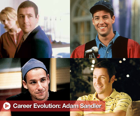 Career Evolution: Adam Sandler