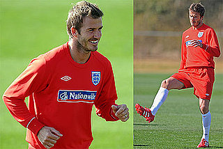 Pictures of David Beckham at a Training Session With England's World Cup Soccer Team 2010-06-22 11:30:00