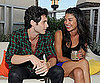 Slide Picture of Penn Badgley and Jessica Szohr in NYC