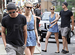 Pictures of Josh Hartnett and Girlfriend Sophia Lie in NYC