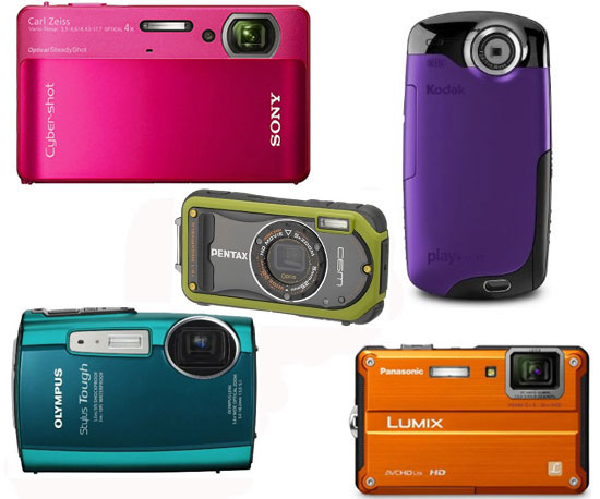 Waterproof Digital Cameras 2010-07-01 11:15:41