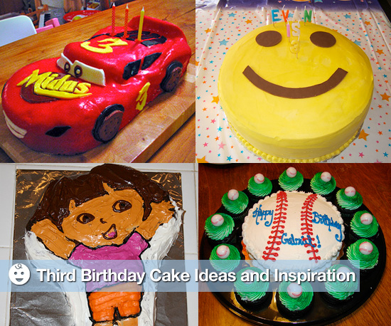Third Birthday Party Cake Ideas and Inspiration