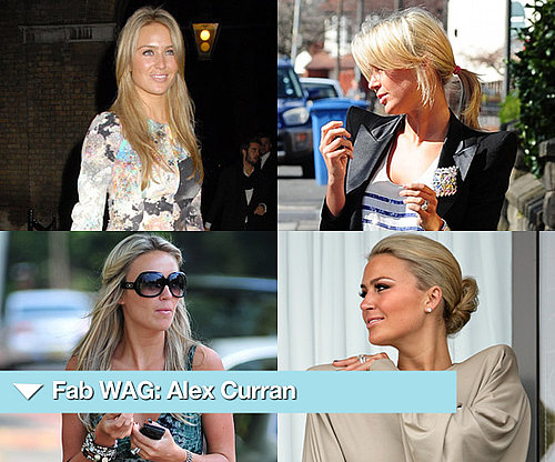 Photos of England WAG Alex Curran