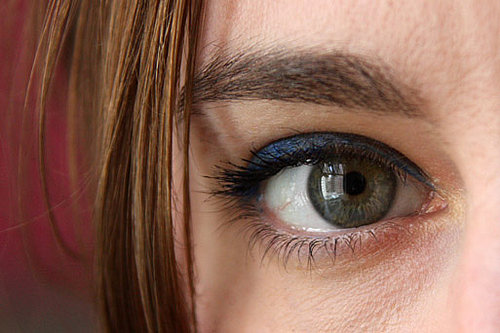 Metallic Blue Eyeliner