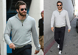 Pictures of Jake Gyllenhaal in LA
