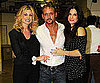 Slide Picture of Faith Hill and Sandra Bullock With Tim McGraw at Nashville Event