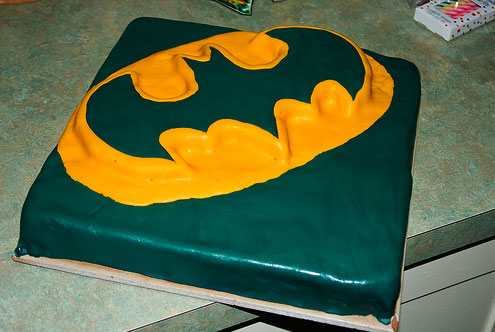 Superheroes Make Super Cakes