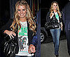 Pictures of Jessica Simpson in a New Kids On The Block T-Shirt Promoting Her Jeans