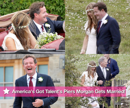 Pics: America's Got Talent's Piers Morgan Gets Married!