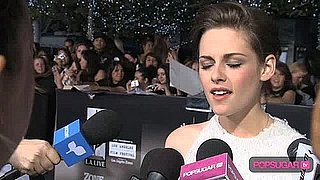 kristen on carpet for pop