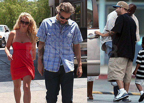 Pictures of Britney Spears and Kevin Federline at Sean Preston's Graduation, Also Jason Trawick 2010-06-25 15:30:28