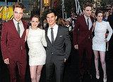 Pictures of Robert Pattinson, Kristen Stewart, Taylor Lautner at the LA Premiere of Eclipse