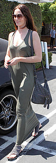 Emily Blunt in Maxi Tank Dress in Los Angeles
