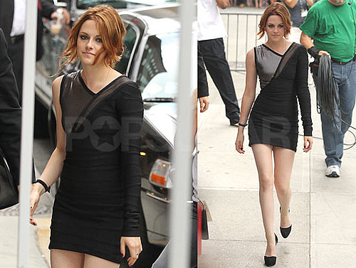 Pictures of Kristen Stewart With New Strawberry Blond Hair