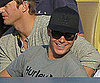 Slide Picture of Zac Efron at Dodgers Game in LA