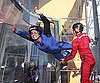 Slide Picture of Nikki Reed Indoor Skydiving in LA