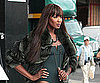 Slide Picture of Naomi Campbell at Photo Shoot in New York City