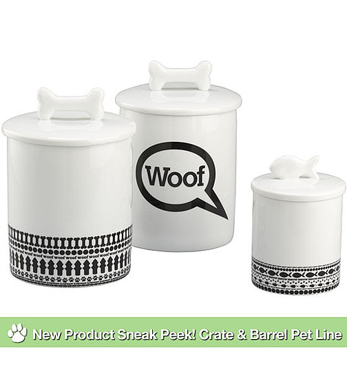 New Product Sneak Peek! Crate & Barrel Pet Line