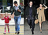 Pictures of Violet Affleck, Ben Affleck, and Jennifer Garner on Ben and Jen's Fifth Anniversary