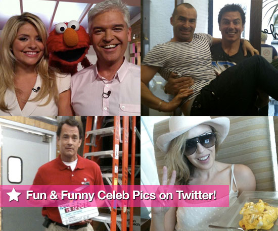 Pictures From Celeb Twitter Accounts Including Kylie and Dannii Minogue, Tom Hanks, Lily Allen, Louie Spence, Eva Longoria 2010-07-01 07:00:00