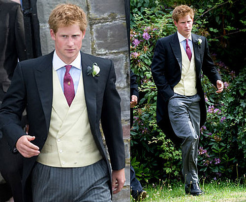 Prince Harry at His Friend's Wedding After Wireless Festival 2010-07-05 20:30:42