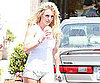 Slide Picture of Britney Spears Getting Starbucks in LA 2010-07-02 06:30:00