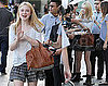 Pictures of Eclipse's Dakota Fanning at Jimmy Kimmel Live
