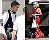 Pictures of Robert Pattinson in Tux and Reese Witherspoon in Evening Gown Filming Water For Elephants on Set